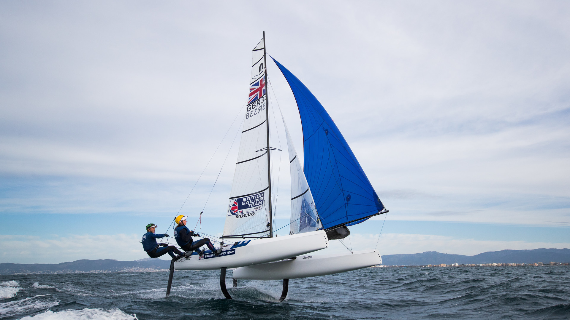Chris Rashley and Laura Marimon, Nacra 17