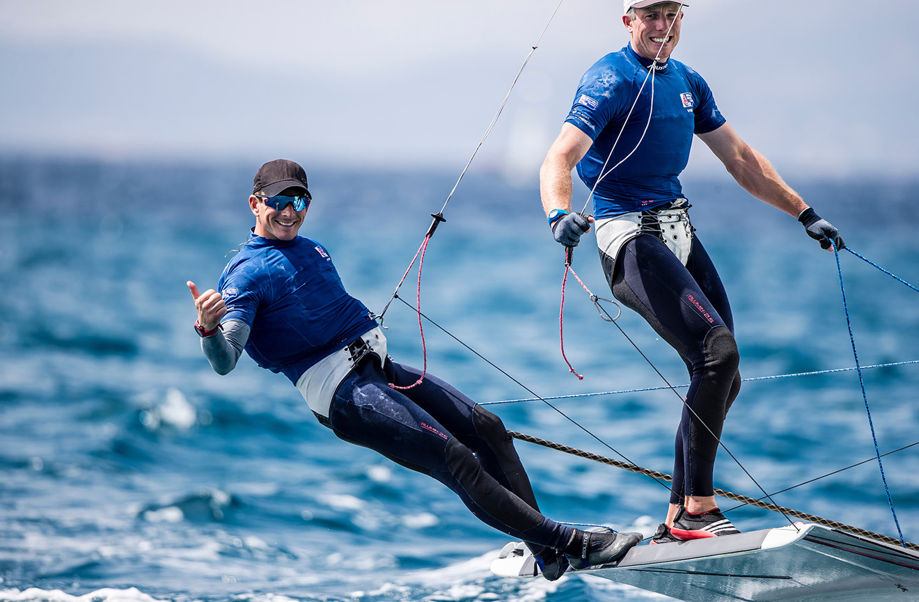 Dylan Fletcher and Stuart Bithell clinch early victory in Palma.