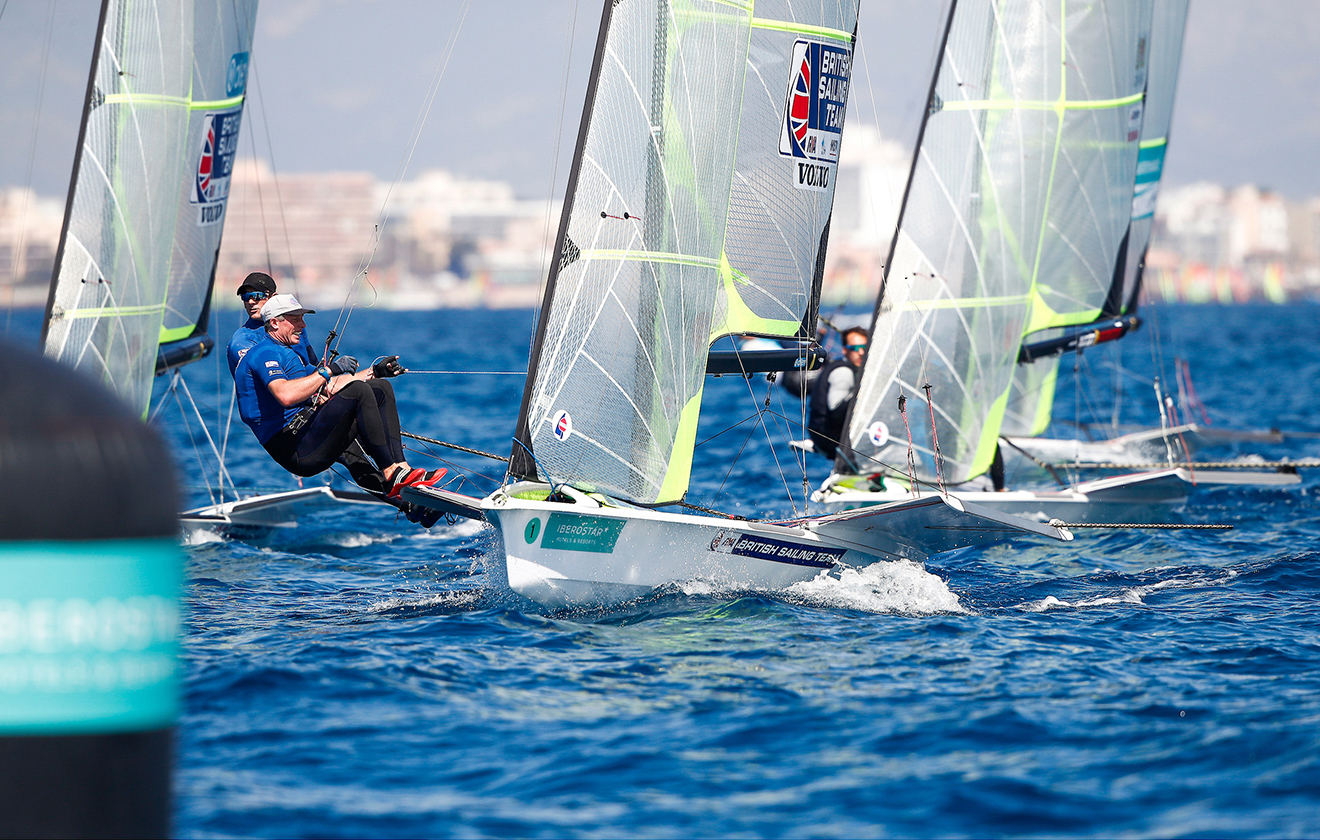 Dylan Fletcher and Stuart Bithell enjoyed a stellar opening day at the Princess Sofia Trophy regatta.
