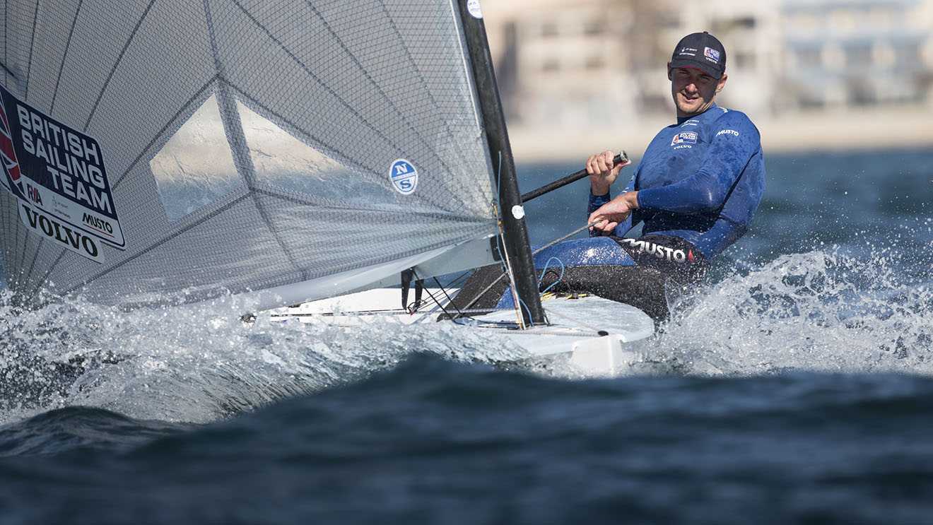 Olympic champion Giles Scott will be among the stellar Finn fleet in Athens.