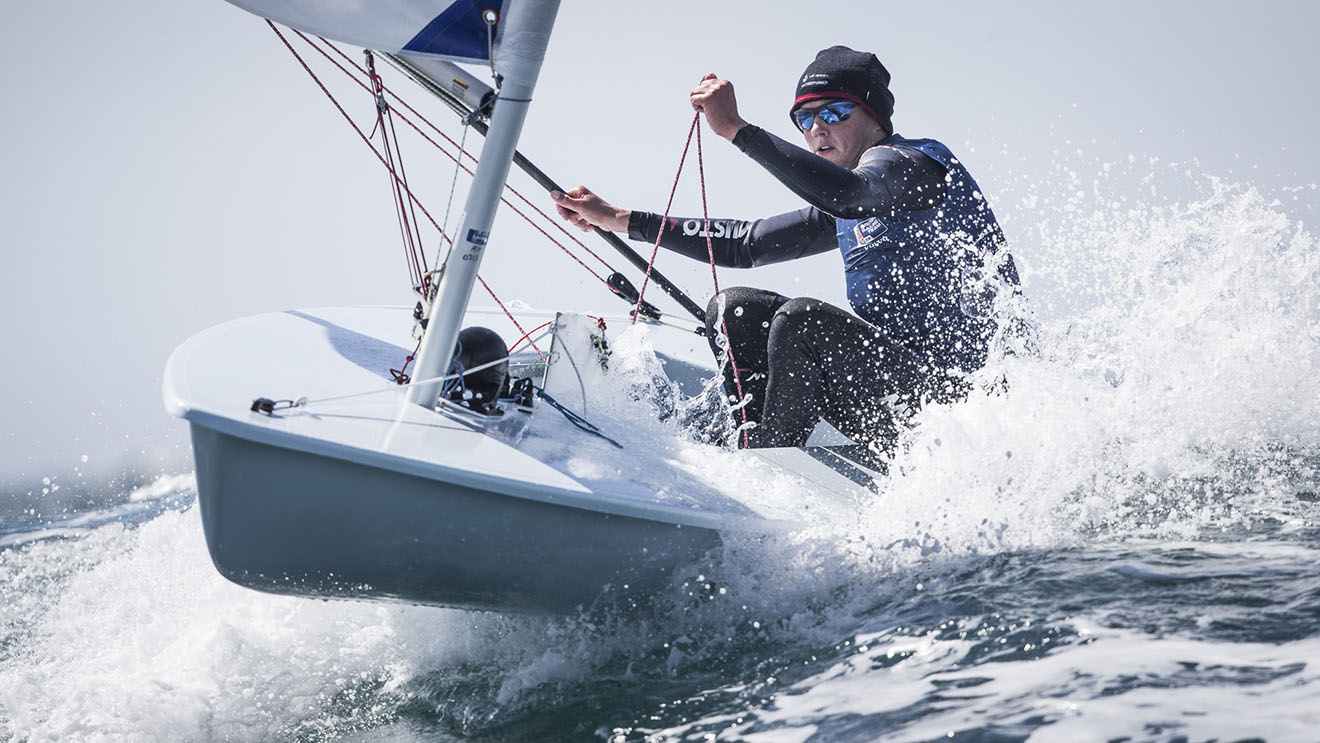Alison Young, Laser Radial.