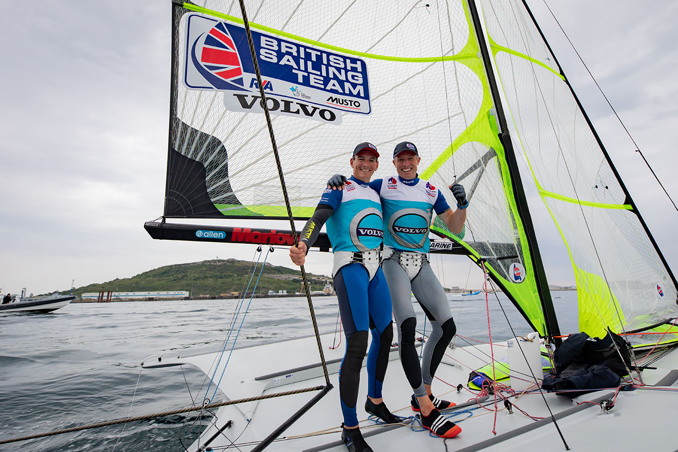 Dylan Fletcher and Stu Bithell claim European gold © Nick Dempsey/RYA