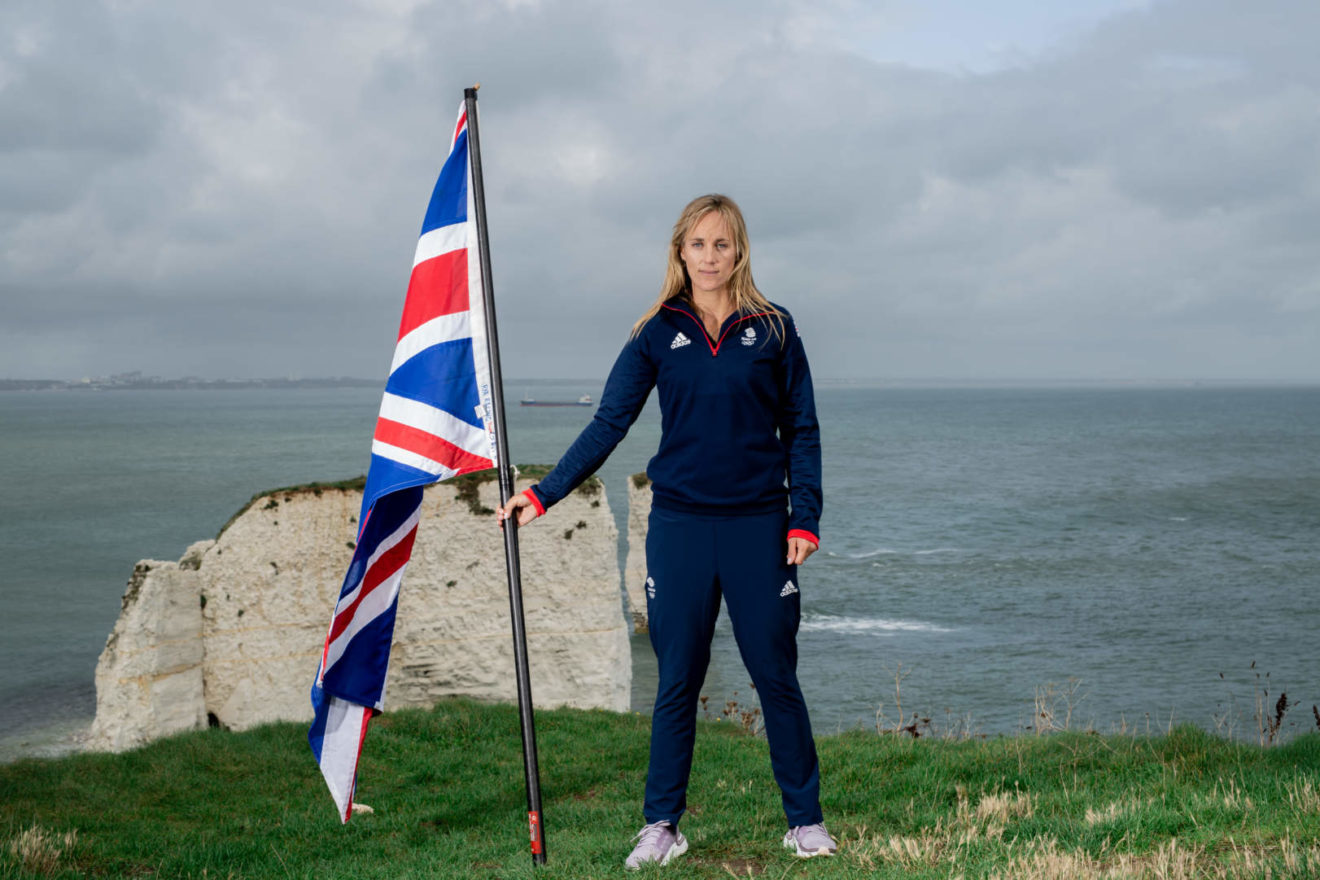 Charlotte Dobson returns to Team GB in the 49erFX alongside Saskia Tidey.