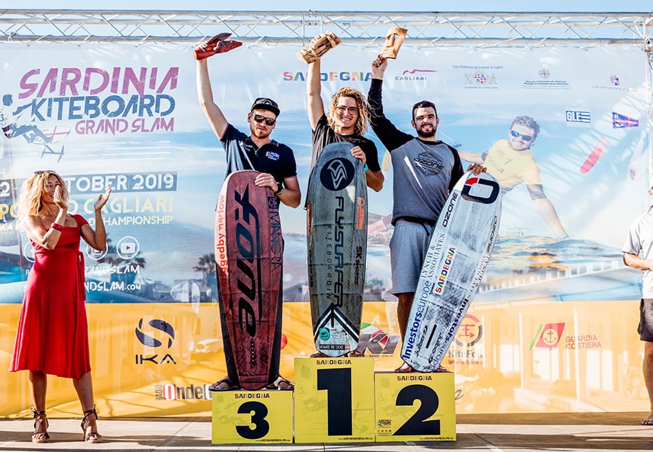 Connor Bainbridge (left) won bronze in Act 4 of the Kitefoil Gold Cup.