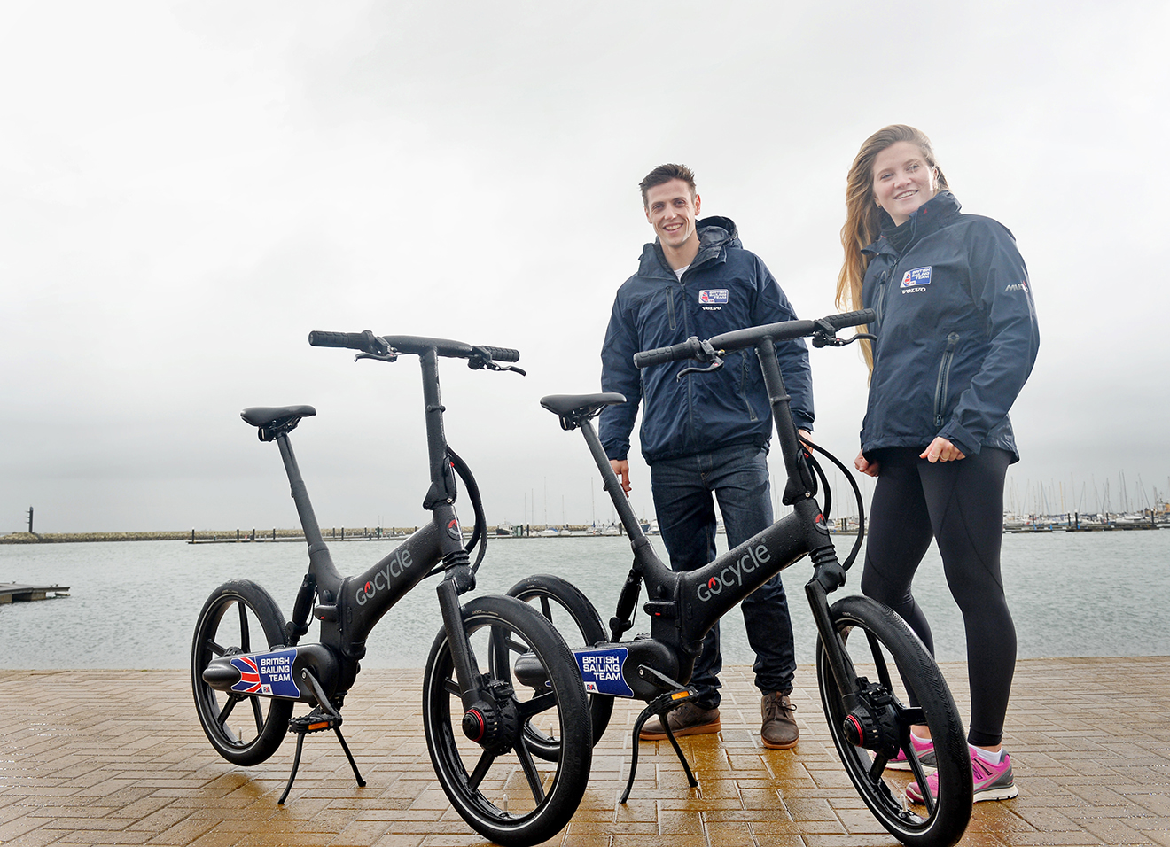 Gocycle and the British Sailing Team have teamed up ahead of Tokyo 2020.