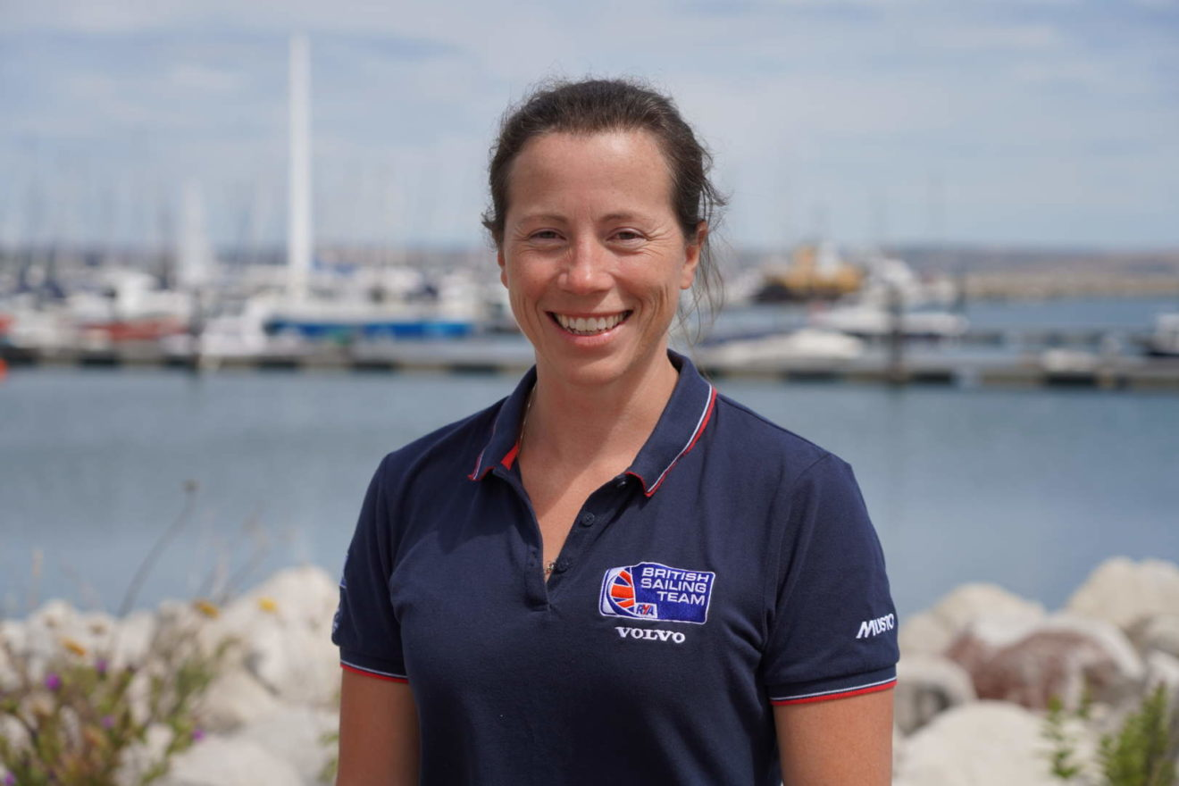 Kate Eddy, head of Performance Support at the British Sailing Team