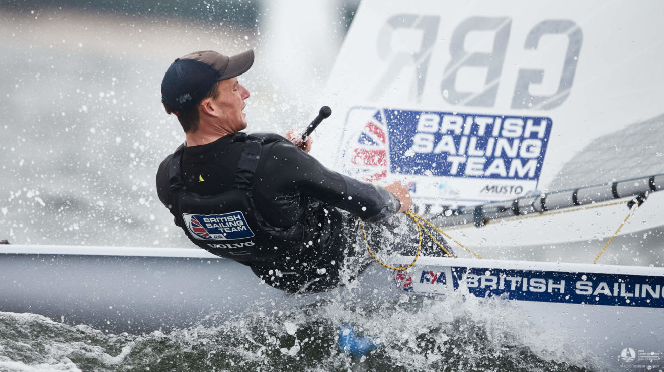 Michael Beckett took silver for the second time in three years.
