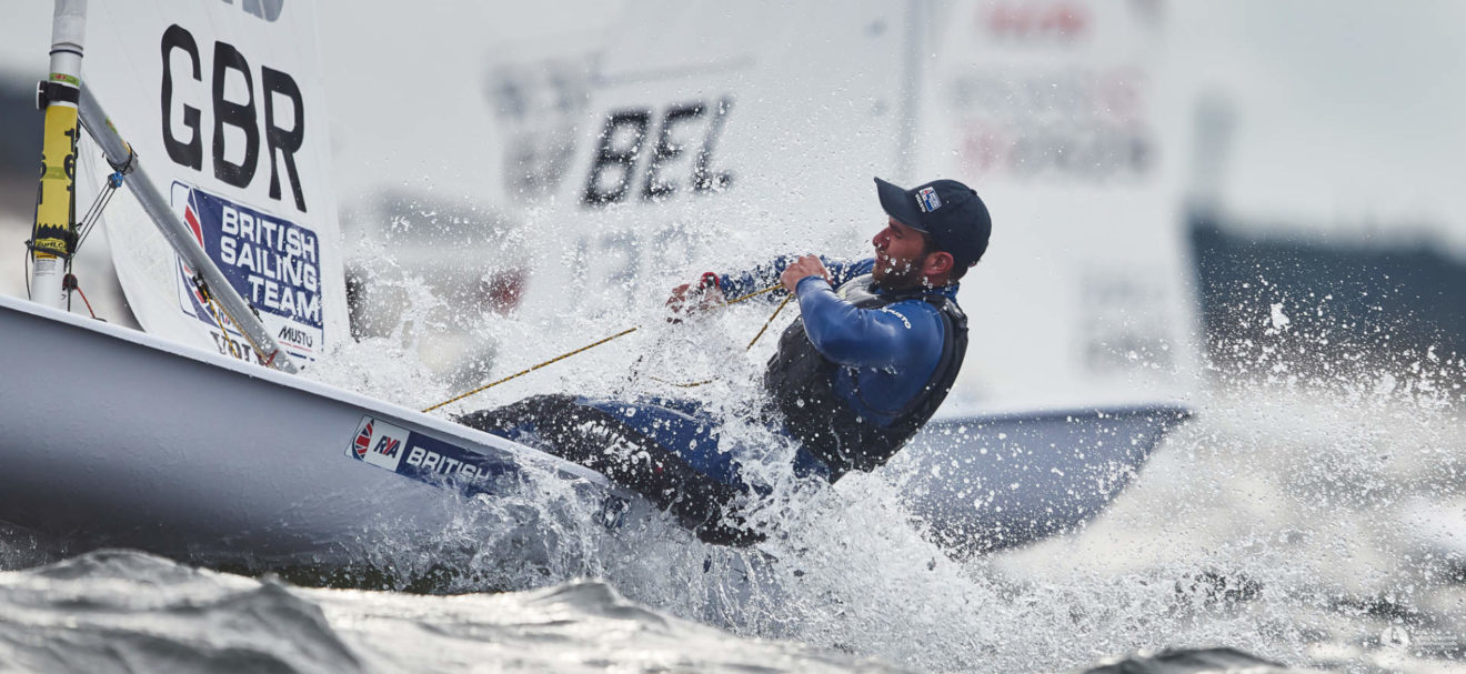 Lorenzo Chiavarini only had six days' training before the regatta after coming back from injury.