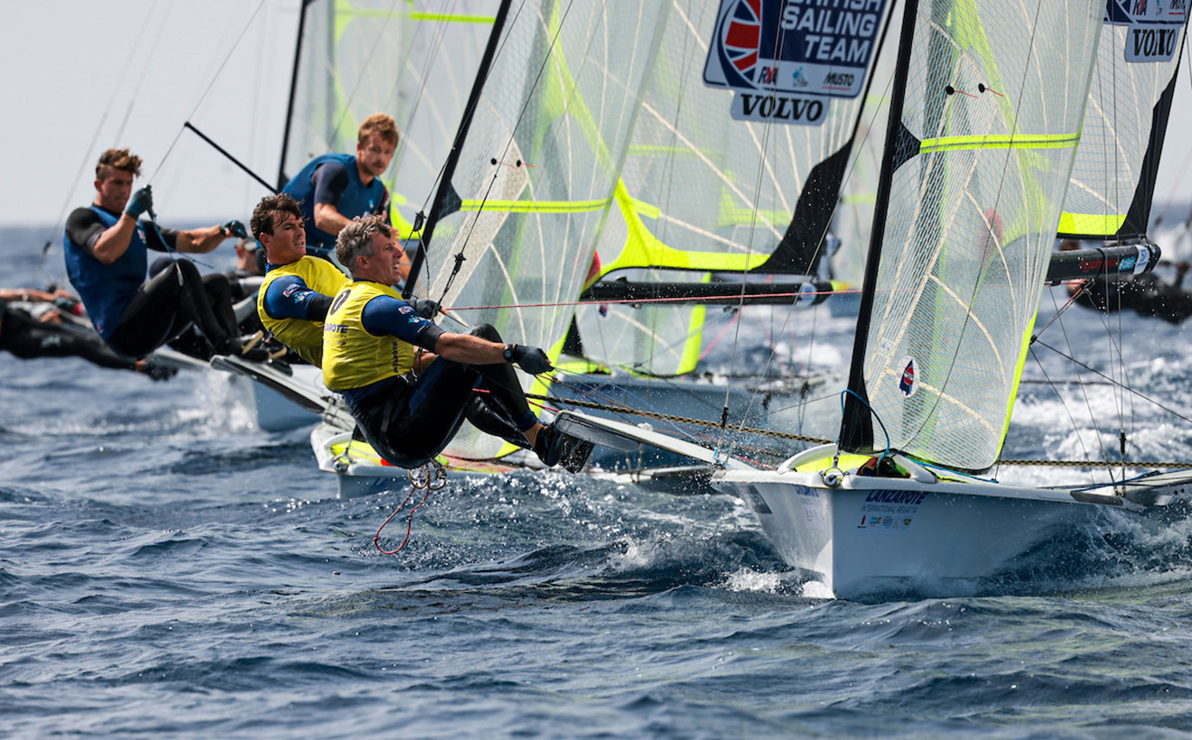 European and African continental qualification regatta for the Tokyo 2021 Olympic Games.Marina Rubicon, Lanzarote, Canary Islands.