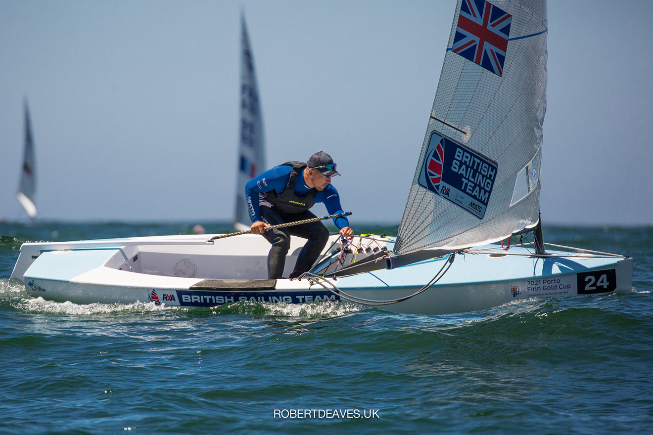 Henry Wetherell came home 13th at the Finn Gold Cup. © Robert Deaves