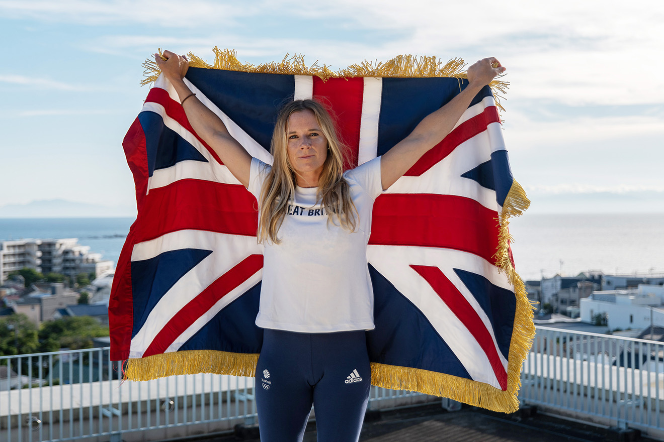 Hannah Mills is announced as a flagbearer for Team GB at the Tokyo 2020 opening ceremony.