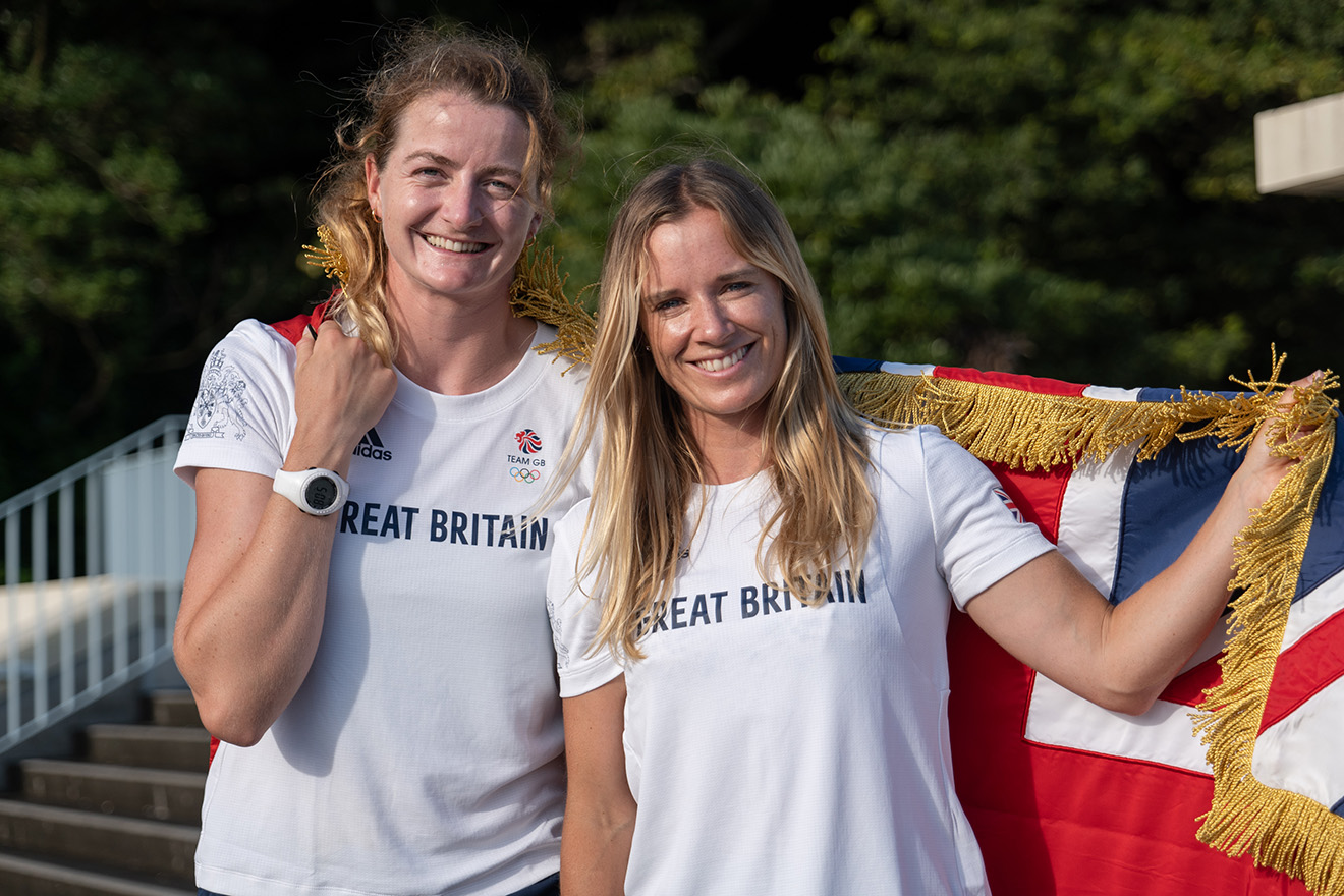 Hannah Mills will be joined at the opening ceremony with crew Eilidh McIntyre